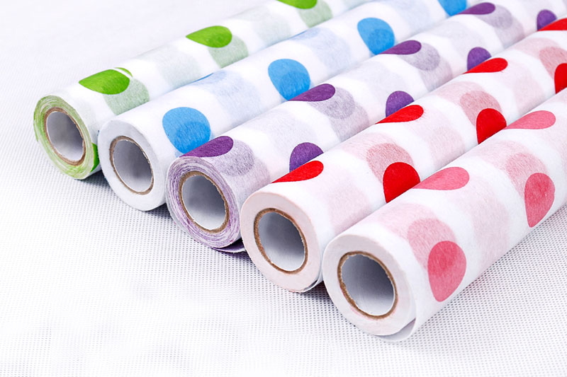 Non woven F01 with printing dots